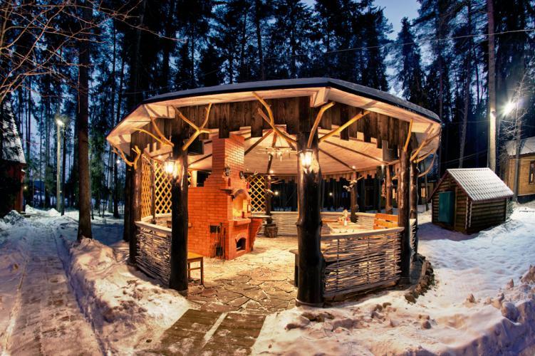 Новый год на базе отдыха нижегородская