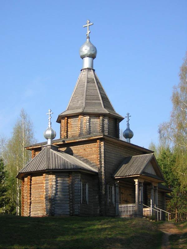 Храм на озере Светлояр