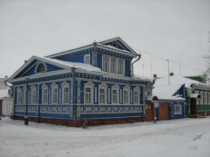 Городецкий музей самоваров