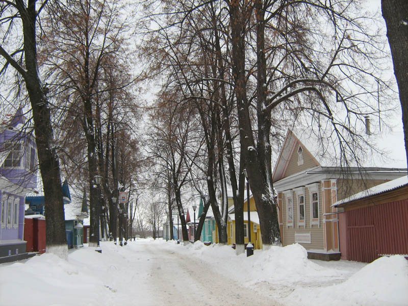 Улица Андрея Рублёва